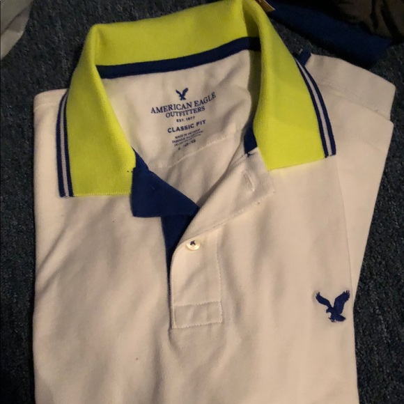7f5a0500 American Eagle Outfitters Shirts | Nwt American Eagle Mens Polo ...